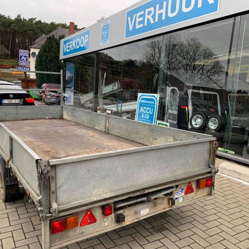 4m77 x 1m98 - Plateau aanhangwagen Ifor Williams - 3500 kg