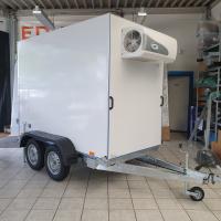 Koelwagen 250 x 125 x 180 cm - 750kg - BW Trailers