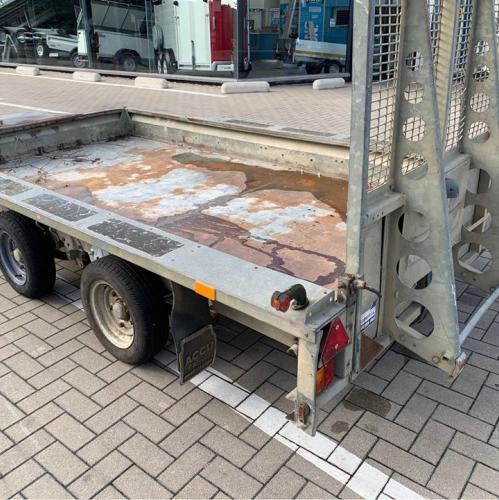 GX126 / Ifor Wiliams dieplader met ramp