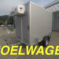 2m50 x 1m35 x 1m90 / 750 kg / koelwagen