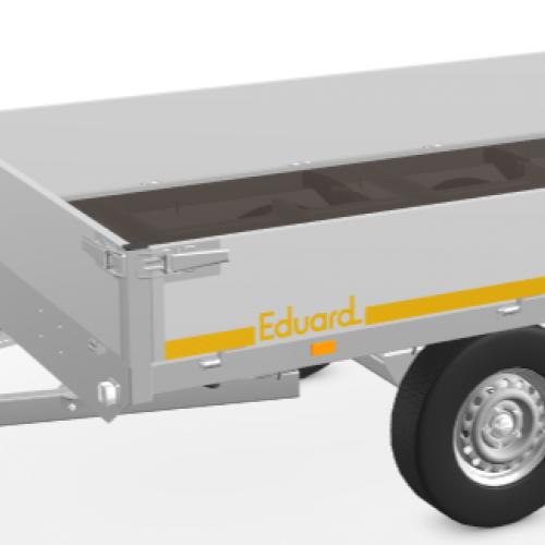 3m10 x 1m60 x 30 cm / 750 kg / Plateau aanhangwagen
