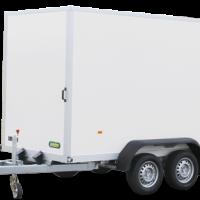 305 x 157 x 194 cm - 2000 kg - Unsinn gesloten aanhangwagen