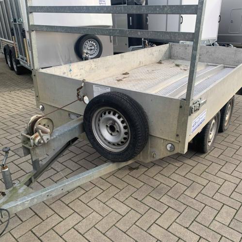 3m x 1m50 / 750 kg / plateau aanhangwagen - ongeremd