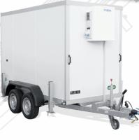 Koelwagen 300 x 150 x 190  cm - 2600kg - Unsinn Trailers
