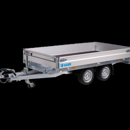 3m30 x 1m80 x 30 cm / 2000 kg / Plateau aanhangwagen